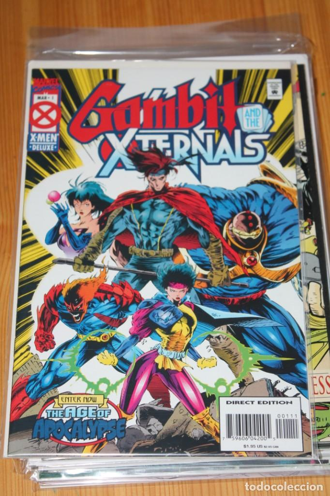 GAMBIT AND THE EXTERNALS 1 MARVEL ORIGINAL EN INGLES VFN/NM (Tebeos y Comics - Comics Lengua Extranjera - Comics USA)