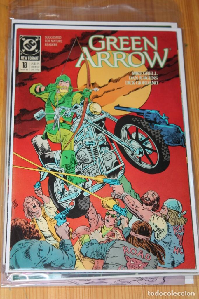 GREEN ARROW 18 DC ORIGINAL VFN- 1989 (Tebeos y Comics - Comics Lengua Extranjera - Comics USA)