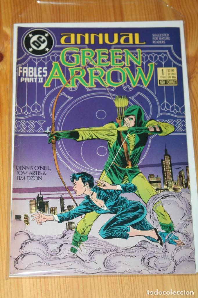 GREEN ARROW ANNUAL 1 DC ORIGINAL FN 1988 (Tebeos y Comics - Comics Lengua Extranjera - Comics USA)