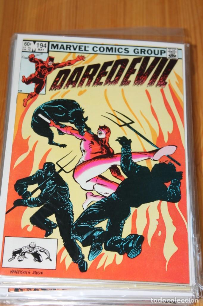 DAREDEVIL 194 MARVEL ORIGINAL VFN+ 1983 (Tebeos y Comics - Comics Lengua Extranjera - Comics USA)