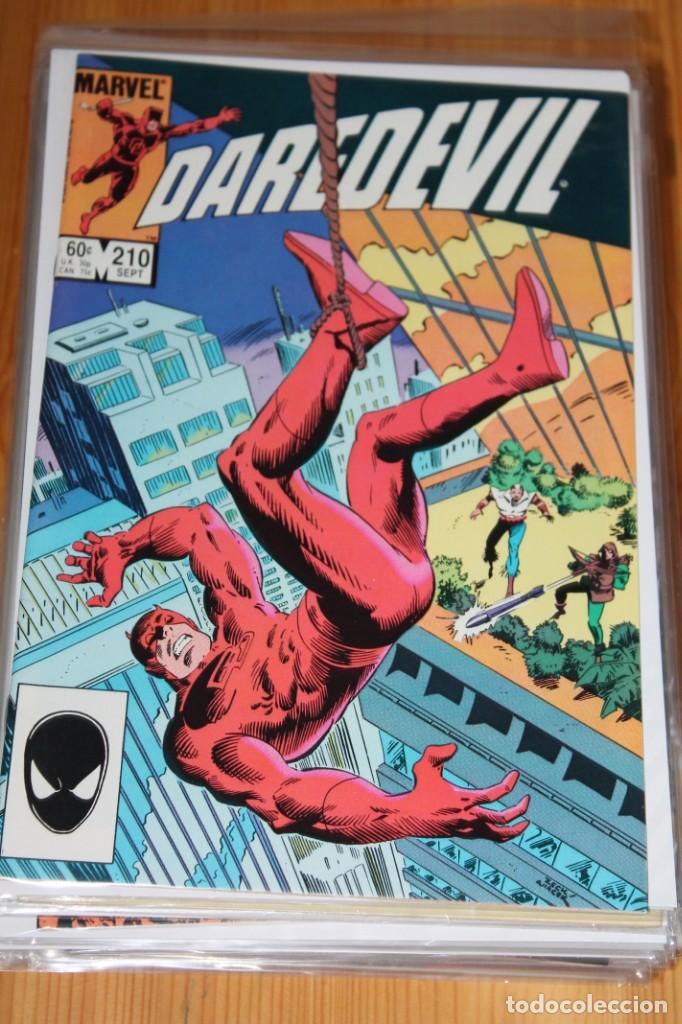 DAREDEVIL 210 MARVEL ORIGINAL VFN+ 1984 (Tebeos y Comics - Comics Lengua Extranjera - Comics USA)