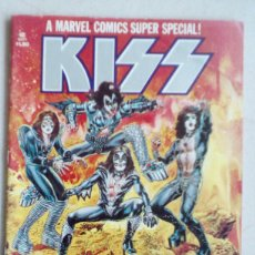 Cómics: MARVEL SUPER SPECIAL #1 KISS COMIC 1977 , IMPRESO CON LA SANGRE DEL GRUPO. INCLUYE PÓSTER. Lote 151068638
