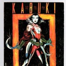 Cómics: KABUKI COMPILATION. DAVID MACK. CALIBER PRESS, 1995. INGLES. Lote 151371421