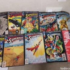 Cómics: SUPER MAN IS DEAD DC FUNERAL FOR A FRIEND COMPLETO 10 CÓMICS INGLES. Lote 151431976