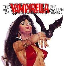 Cómics: VAMPIRELLA. THE ART OF VAMPIRELLA. THE WARREN YEARS. 200 PÁGINAS. NUEVO.. Lote 151573034