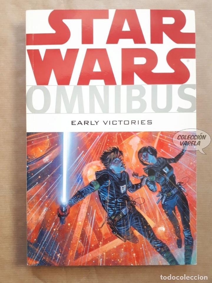 STAR WARS OMNIBUS Nº 7 - EARLY VICTORIES - DARK HORSE - ORIGINAL USA - JMV (Tebeos y Comics - Comics Lengua Extranjera - Comics USA)