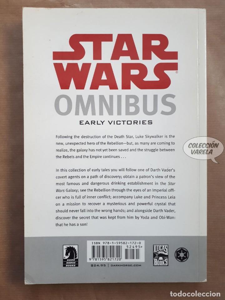 Cómics: Star Wars Omnibus nº 7 - Early victories - Dark Horse - Original USA - JMV - Foto 2 - 151824962