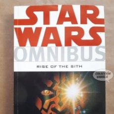 Cómics: STAR WARS OMNIBUS Nº 8 - RISE OF THE SITH - DARK HORSE - ORIGINAL USA - JMV. Lote 151825286