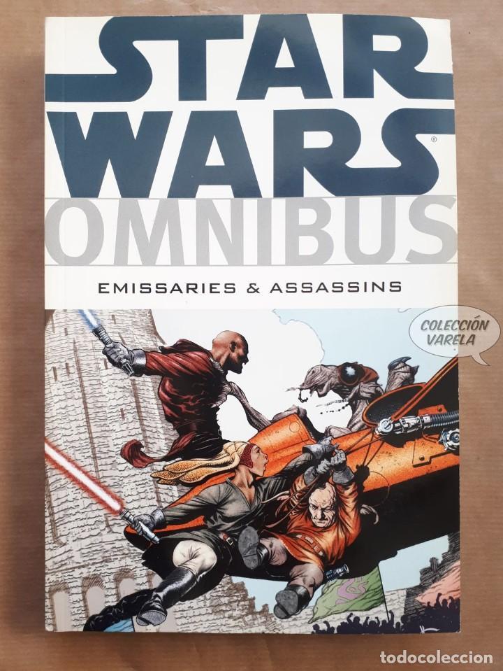 STAR WARS OMNIBUS Nº 9 - EMISSARIES & ASSASSINS - DARK HORSE - ORIGINAL USA - JMV (Tebeos y Comics - Comics Lengua Extranjera - Comics USA)