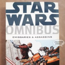 Cómics: STAR WARS OMNIBUS Nº 9 - EMISSARIES & ASSASSINS - DARK HORSE - ORIGINAL USA - JMV. Lote 151825666