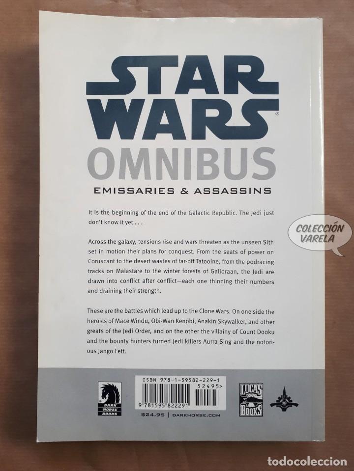 Cómics: Star Wars Omnibus nº 9 - Emissaries & Assassins - Dark Horse - Original USA - JMV - Foto 2 - 151825666