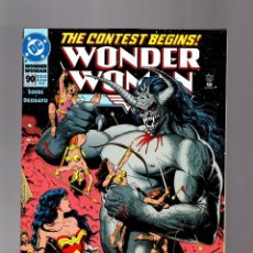 WONDER WOMAN 90 - DC 1994 VFN / LOEBS & DEODATO / BOLLAND COVER