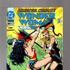 Cómics: WONDER WOMAN 91 - DC 1994 VFN/NM / LOEBS & DEODATO / BOLLAND COVER. Lote 152144710