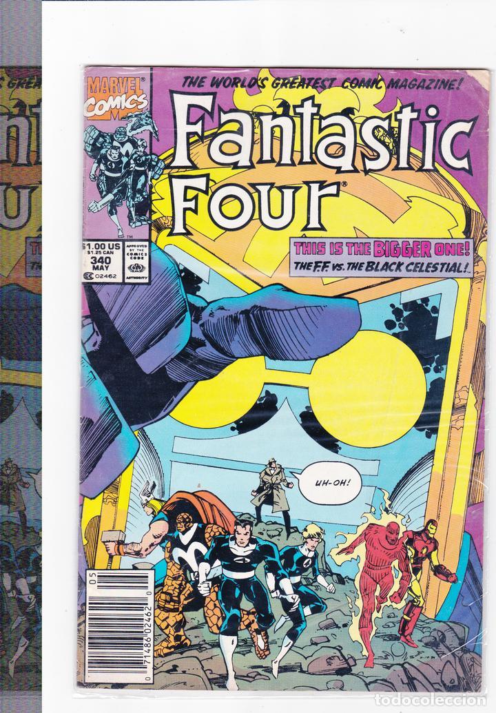 FANTASTIC FOUR Nº 340 MAY.(EN INGLES ) (Tebeos y Comics - Comics Lengua Extranjera - Comics USA)