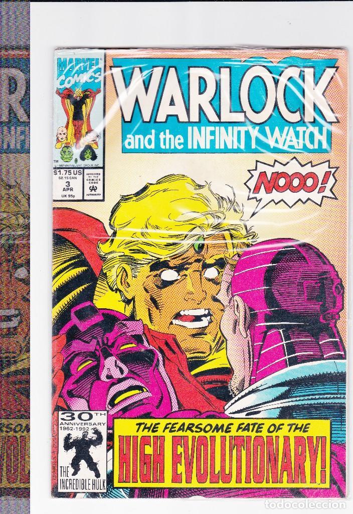 WARLOCK AND THE INFINITY WATCH Nº3 APRIL ( EN INGLES ) (Tebeos y Comics - Comics Lengua Extranjera - Comics USA)
