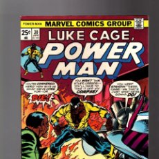 Cómics: POWER-MAN / LUKE CAGE HERO FOR HIRE 30 # MARVEL 1976 VFN+. Lote 152648930