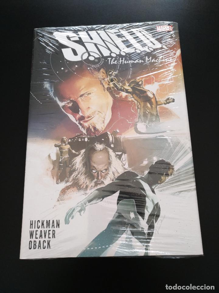S.H.I.E.L.D. THE HUMAN MACHINE HC - JONATHAN HICKMAN - SHIELD (Tebeos y Comics - Comics Lengua Extranjera - Comics USA)