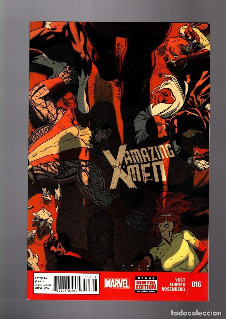 AMAZING X-MEN 16 - MARVEL 2015 VFN (Tebeos y Comics - Comics Lengua Extranjera - Comics USA)
