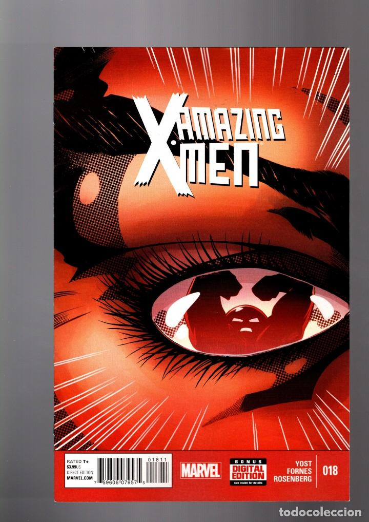 AMAZING X-MEN 18 - MARVEL 2015 VFN (Tebeos y Comics - Comics Lengua Extranjera - Comics USA)