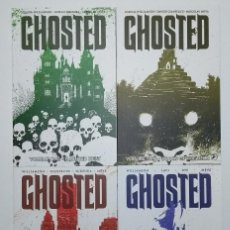 Cómics: COMPLETA - GHOSTED TPB # 1 AL 4 (IMAGE,2013) - JOSHUA WILLIAMSON - FANTASMAS. Lote 153910646