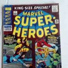 Cómics: MARVEL SUPER-HEROES KING SIZE SPECIAL NÚMERO 1, 1966. Lote 153948418