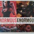 Cómics: COMPLETA - ENORMOUS TPB # 1 Y 2 (215 INK,2015-2016) - TIM DANIEL - MEHDI CHEGGOUR. Lote 154286810