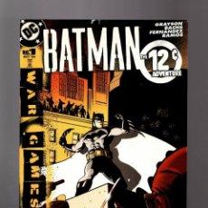 Cómics: BATMAN THE 12 Ç ADVENTURE - DC 2004 FN. Lote 154781202