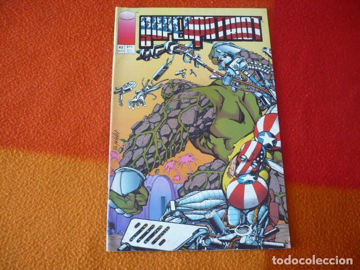 SUPERPATRIOT SUPER PATRIOT Nº 2 ¡BUEN ESTADO! ( EN INGLES ) IMAGE (Tebeos y Comics - Comics Lengua Extranjera - Comics USA)