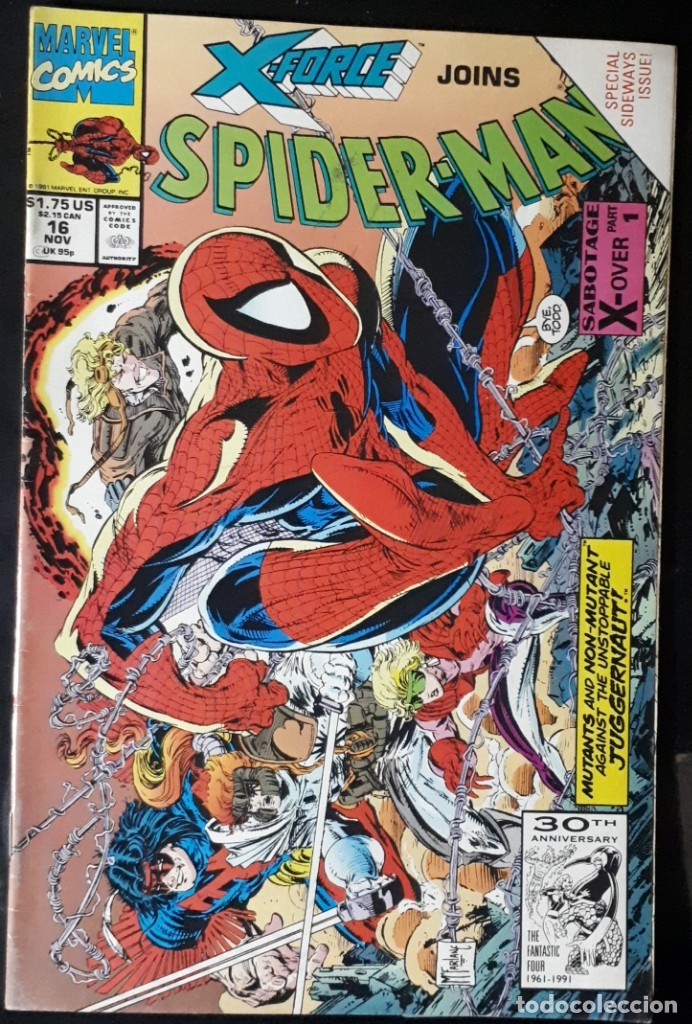 SPIDER-MAN 16 USA - X-FORCE VS SPIDERMAN MCFARLANE (Tebeos y Comics - Comics Lengua Extranjera - Comics USA)