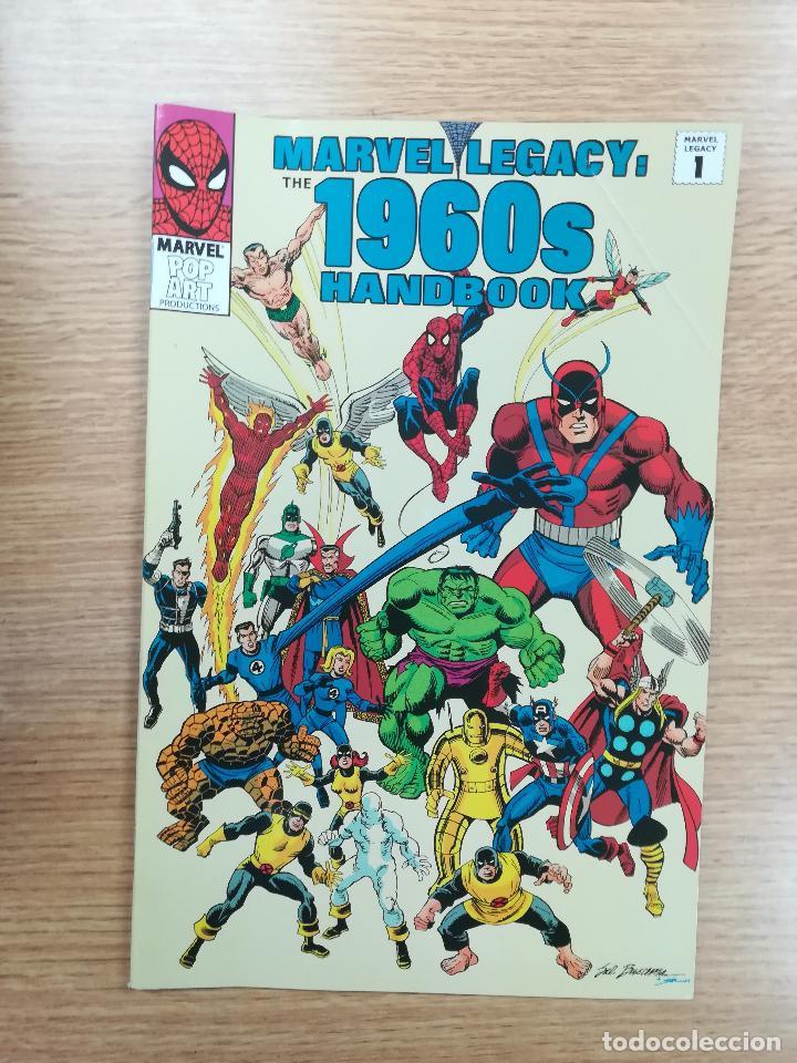 MARVEL LEGACY: 1960S HANDBOOK (2006) (Tebeos y Comics - Comics Lengua Extranjera - Comics USA)