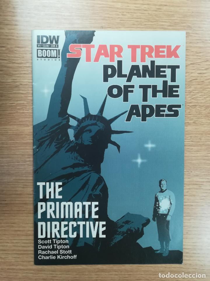 STAR TREK PLANET OF THE APES #1 (Tebeos y Comics - Comics Lengua Extranjera - Comics USA)