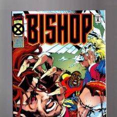 Cómics: BISHOP 4 LIMITED SERIE - MARVEL 1994 VFN/NM / OSTRANDER & PACHECO / X-MEN. Lote 155086758