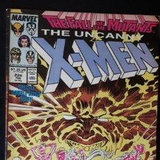Cómics: THE UNCANNY X-MEN - 226 USA FALL OF THE MUTANTS. Lote 155087550