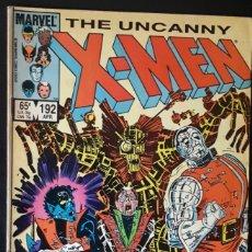 Cómics: THE UNCANNY X-MEN - 192 - JOHN ROMINTA JR PATRULLA-X. Lote 155087822