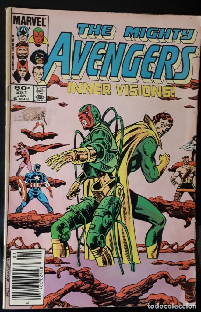 THE MIGHTY AVENGERS - 251 USA VENGADORES (Tebeos y Comics - Comics Lengua Extranjera - Comics USA)
