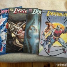 Cómics: DEATHLOK 1 2 3 4 - 1990 MINI-SERIES - PRESTIGE - DWAYNE MCDUFFIE, GREGORY WRIGHT & JACKSON GUICE. Lote 155395622