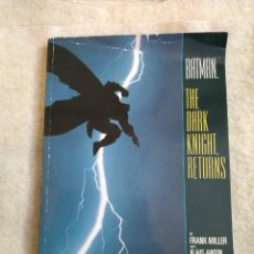 Cómics: BATMAN THE DARK KNIGHT RETURNS - 1986 TPB - INTRODUCCIÓN DE ALAN MOORE. Lote 155397666