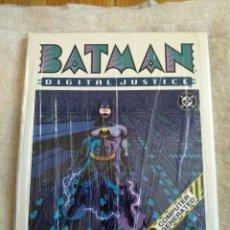 Cómics: BATMAN DIGITAL JUSTICE - 1990 TAPA DURA HC - EDICIÓN EN INGLÉS. Lote 155398154