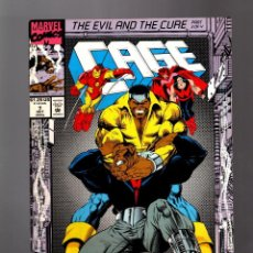 Cómics: CAGE 7 - MARVEL 1992 VG+ / AVENGERS. Lote 155599386