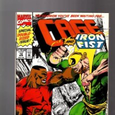 Cómics: CAGE 12 - MARVEL 1993 FN+ / GIANT SIZE / POWER-MAN VS IRON FIST . Lote 155600326