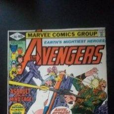 Cómics: AVENGERS #195 (1963 1ST SERIES) MARVEL 1980 1ST APP TASKMASTER CAMEO FINE/VF. Lote 155703610