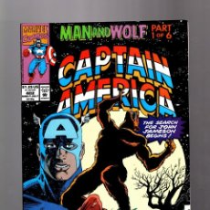 Cómics: CAPTAIN AMERICA 402 - MARVEL 1992 VFN+ / MAN AND WOLF. Lote 155786398