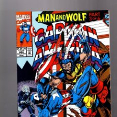 Cómics: CAPTAIN AMERICA 404 - MARVEL 1992 VFN / MAN AND WOLF / VS WOLVERINE. Lote 155786546