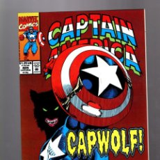 Cómics: CAPTAIN AMERICA 405 - MARVEL 1992 VFN+ / MAN AND WOLF / CAPWOLF !. Lote 155786642