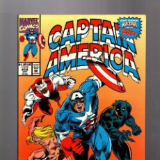 Cómics: CAPTAIN AMERICA 414 - MARVEL 1993 VFN / KA-ZAR / BLACK PANTHER. Lote 155787478