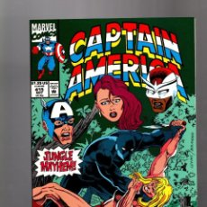 Cómics: CAPTAIN AMERICA 415 - MARVEL 1993 VFN+ / KA-ZAR VS BLACK PANTHER. Lote 155787574