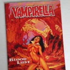 Cómics: OCASION NAVIDAD: VAMPIRELLA BLOOD LUST. NÚMERO ÚNICO DIBUJADO POR JOE JUSKO. EN ALEMÁN. Lote 156026182