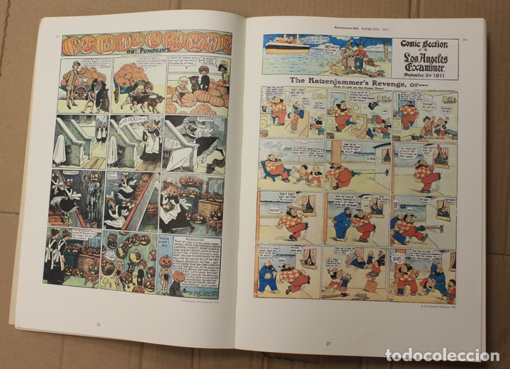 Cómics: THE SMITHSONIAN COLLECTION OF NEWSPAPER COMICS. EDITED BY BILL BLACKBEARD AND MARTIN WILLIAMS - Foto 2 - 156089385