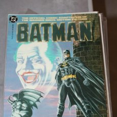 Cómics: BATMAN THE OFFICIAL COMIC ADAPTATION OF THE WARNER BROS MOTION PICTURE DC. Lote 156444038