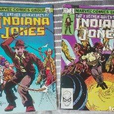 Cómics: THE FURTHER ADVENTURES OF INDIANA JONES 1 Y 2 (JOHN BYRNE & TERRY AUSTIN) ORIGINALES USA. Lote 156914966